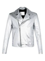 topman com en tmuk clothing 140502 mens coats jackets 140512 leather faux leather jackets 3536830 aaa silver leather jacket 4660887 bi