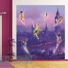 London Wallpaper For Bedrooms Disney Fairies Tinkerbell In London Wallpaper Xl Great