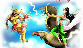 Image result for narkasur diwali