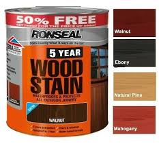 Johnstones Woodcare Quick Drying Woodstain 750ml Exterior