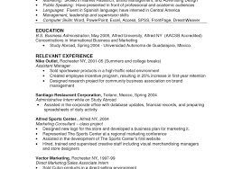 proffesional business manager resume resume seductive business sports management resume samples