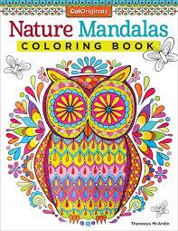 Small Picture Nature Mandalas Coloring Book by Thaneeya McArdle Thaneeyacom