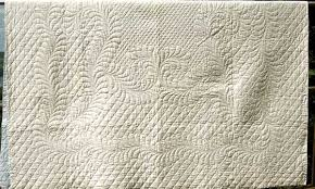 All White Quilts and Coverlets | Historic American Quilts & Comparison to modern-day manufactured Marseille quilts is a simple task.  Excellent condition and very rare. $2200 Adamdwight.com