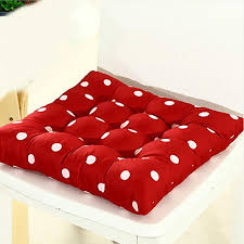 thick soft chair cushions for kitchen home office chair solid color square seat cushion ocks chair