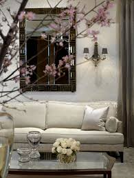 ... Gorgeous Wall Decoration With Mirrored Wall Letters : Good Looking Living  Room Decoration Using Small Black ...