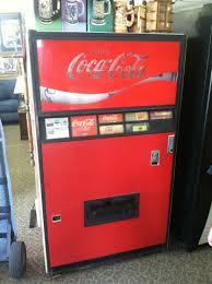 Coca Cola Bottle Vending Machine Beauteous Vintage 48s Coke Vending Machine CocaCola Bottle NexTech