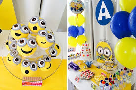 Party Ideas Minions Themed Birthday Planning Decor