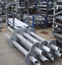Image result for ab chance round shaft  helical piles