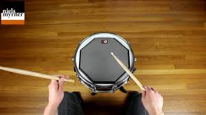 How To Practice Rudiments Drum Lesson