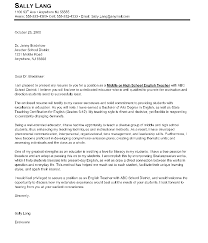 Sampleher Introduction Letter To Parents Middle School Education