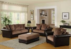 wall paint with brown furniture. Living Room Ideas Brown Sofa With Beige Rugs Wall Paint Furniture