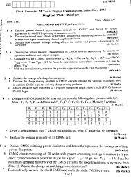 Vlsi Design Question Papers Vtu Digital Vlsi Design 14eve12 June July 2015 Question Paper