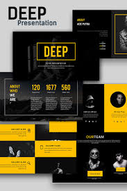 Ppt Template For Academic Presentation Deep Creative Presentation Powerpoint Template 66135