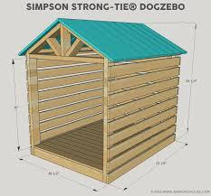 how to build a diy dog house gazebo free building plans