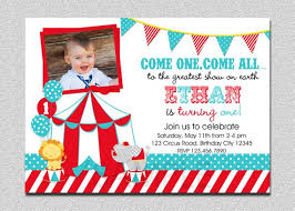 Circus Party Invitation Impressive Circus Birthday Invitation 48st Birthday Circus Party Etsy