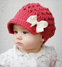 Crochet Newsboy Hat Pattern Interesting 48 DIY Crochet Brimmed Beanie Hats DIY To Make