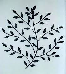 wrought iron tree black wall decor metal art great for your interior gumtree wrought iron tree