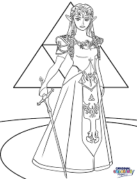 Best Zelda Breath Of The Wild Coloring Pages Yasminroohi
