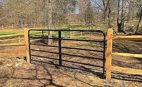 split rail wood fence gate. View Larger Image 3-Rail Split Rail Wood Fence Gate
