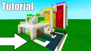 A house doesn't always have to look like a house. Minecraft Tutorial How To Make A Weird Modern House Modern House 11 Youtube