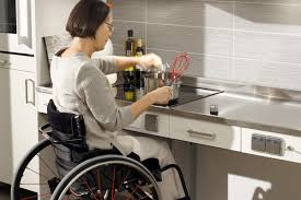handicap kitchen design. top 5 things to consider when designing an accessible kitchen for wheelchair users. - assistive technology at easter seals crossroads handicap design b