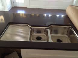 sinks sinks with drainboards wall mount porcelain kitchen sink with stainless steel and porcelain cabinet