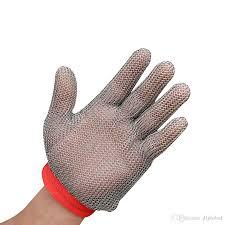 m chain stainless steel glove oyster glove mesh metal mesh