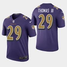 Purple Legend Rush Earl Jersey Ravens - Thomas Color