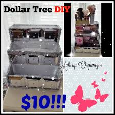 uploaded to rachaelcpr on you diy makeup storage diy makeup organization dollar tree make up organizing tips