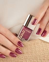Gold Effect Nail Polish 01 Catrice Cosmetics
