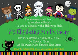 halloween birthday party invitations com