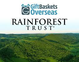 rainforest trust and gift baskets overseas partnership