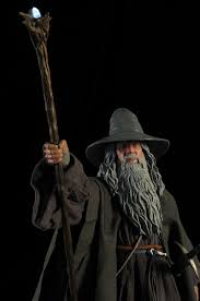 Gandalf Light Staff Review And Photos Of Sideshow Gandalf The Grey Premium