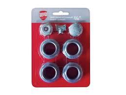 <b>Набор присоединительный Royal Thermo</b> 3/4 дюйма серебристый