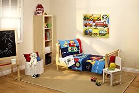 Everything Kids Toddler Bedding Set Under Construction