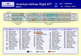 Appendix I Seating Chart Zoes Flight