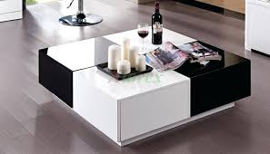 coffee table black and white coffee table black and white