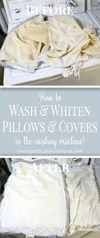How To Wash Throw Pillows Without Removable Cover Custom Can I Wash A Pillow In The Washing Machine Can You Wash Polyester