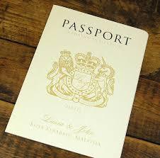 passport to love booklet travel wedding invitation by ditsy chic Wedding Invitation Charms Uk uk passport cover in cream Unique Wedding Invitations UK