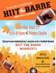 Fall Flyer Hiit The Barre Fall Flyer Columbia Basin Racquet Club