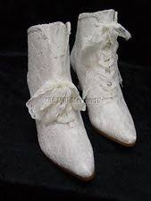 lace wedding boots ebay Wedding Boots Black victorian wedding boots edwardian granny style lace boots size 11 ivory color wedding shoes block heel
