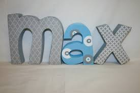 baby nursery ideas room letters decor decorative name crazy