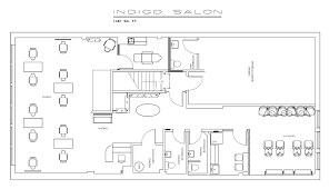 Salon Layouts Salon Design Space Planning Floor Plan Layouts For Salons Spas Salon