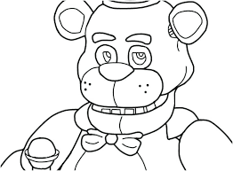 Coloring Pages For Five Nights At Freddys Coloring Sheets Stock Five