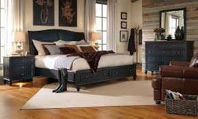 aspenhome ravenwood queen storage bedroom