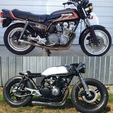 honda cb750 cafe racer before after made the difference