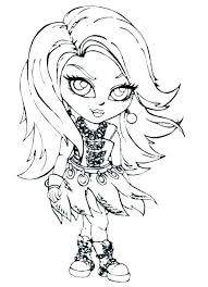 monster high babies coloring pages stein cute page baby printable