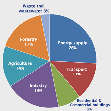 Pie Chart Of Greenhouse Gas Emissions Truevaluemetrics Impact Accounting For The 21st Century