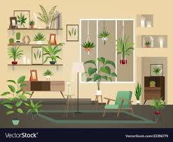 Urban Home Interior Design Indoor Flowers Into Room Urban Home Interior