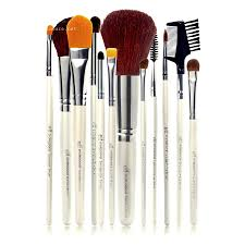 makeup brushes with makeup brush cleaning glove